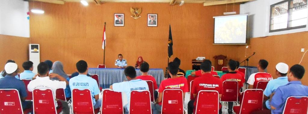 Tamping Lapas Yogyakarta Mengikuti Sosialisasi TB HIV