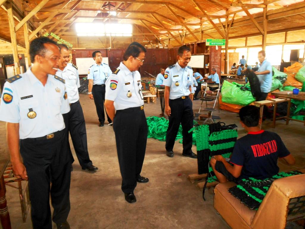 Lapas Yogyakarta Dikunjungi Pejabat Direktorat Bina Narapidana dan Pelayanan Tahanan