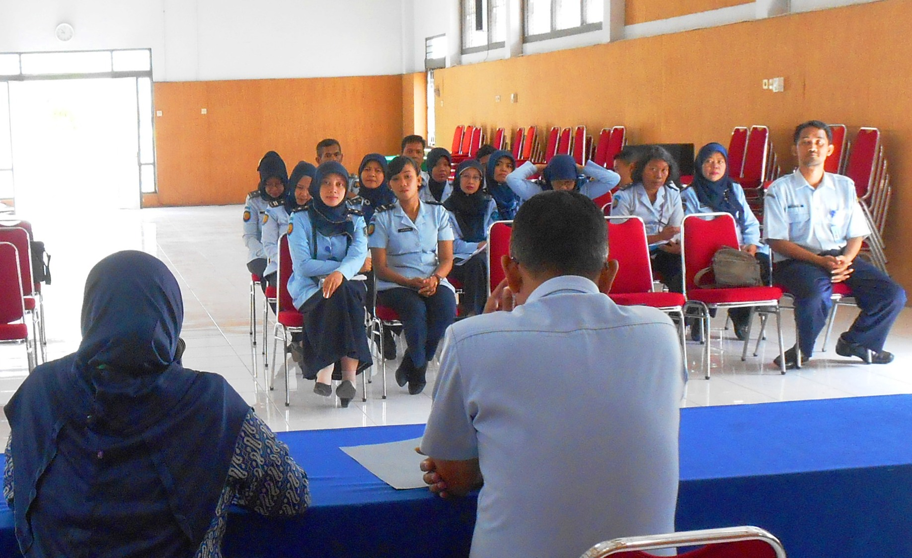 Sosialisasi TB HIV untuk Pegawai Lapas Wirogunan Yogyakarta