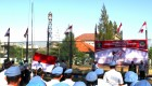 Prosesi pengibaran Bendera Merah putih pada Upacara HUT Ke-69 Kemerdekaan Republik Indonesia dan Pemberian Remisi bagi Warga Binaan Pemasyarakatan (WBP) di Lapas Kelas IIA Yogyakarta, Minggu (17/8). Foto: Istimewa