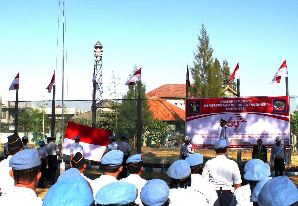 Walikota pimpin Upacara HUT Ke-69 Kemerdekaan di Lapas Yogyakarta