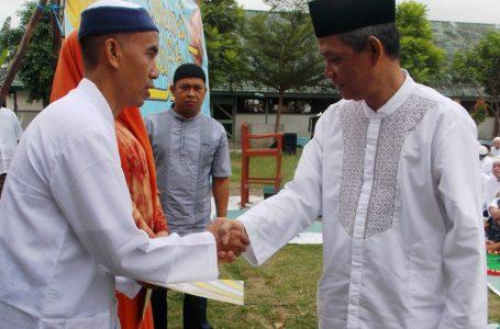 Remisi Khusus Hari Raya Idul Fitri 1435 Hijriyah diterima WBP Lapas Wirogunan