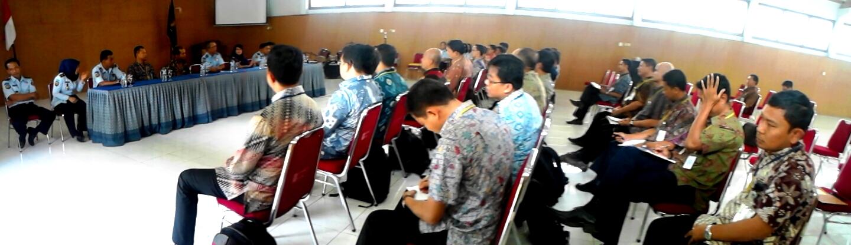Peserta Diklat Kepemimpinan Tingkat IV Kementerian Keuangan RI ke Lapas Wirogunan