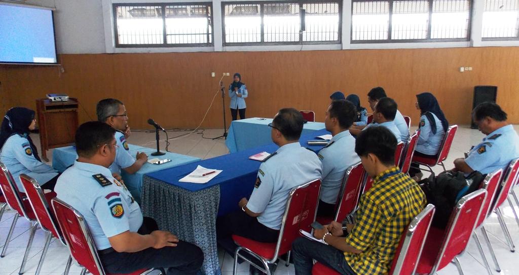 Tim Penanggulangan HIV/AIDS Kanwil Kemenkumham DIY Monev ke Lapas Yogyakarta