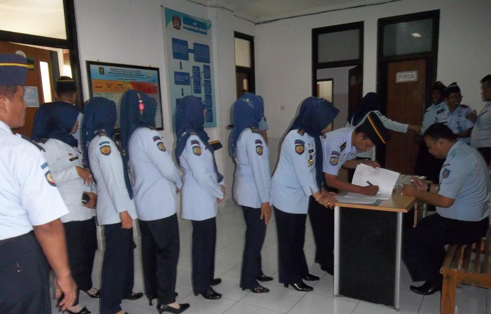 Tiga Pegawai Lapas Wirogunan yakin Tidak Lakukan Penyalahgunaan Narkoba