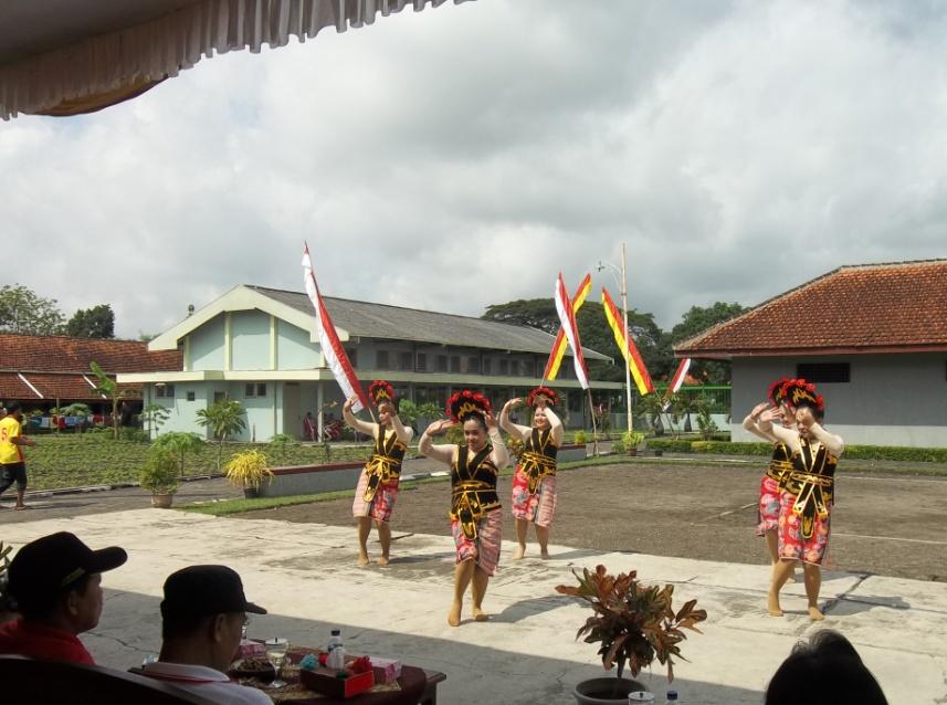 WBP Wanita Lapas Wirogunan Menari Yapong