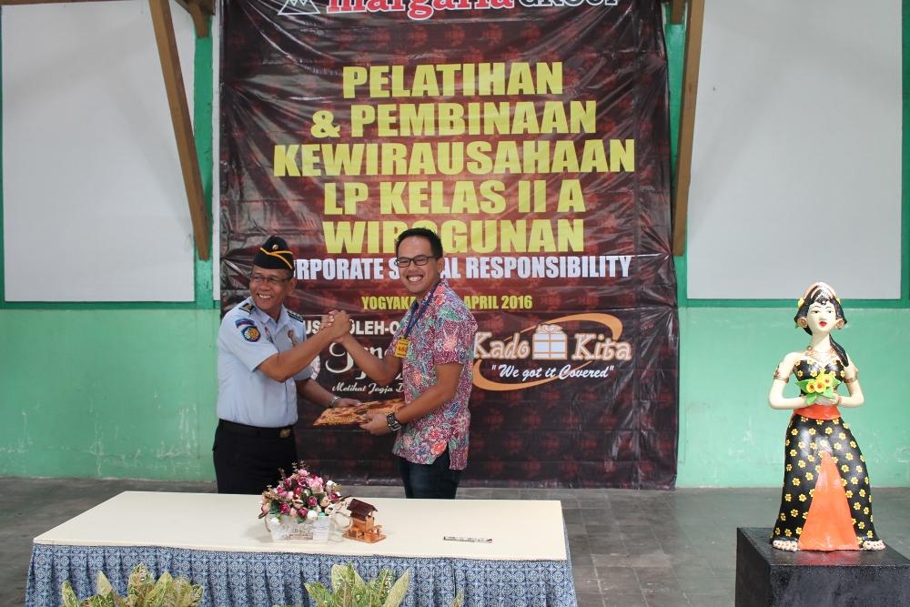 """""""Margaria Group"""" Lakukan Kerja Sama dengan Lapas Wirogunan Yogyakarta  dan Selenggarakan Pelatihan Kewirausahaan bagi WBP"""