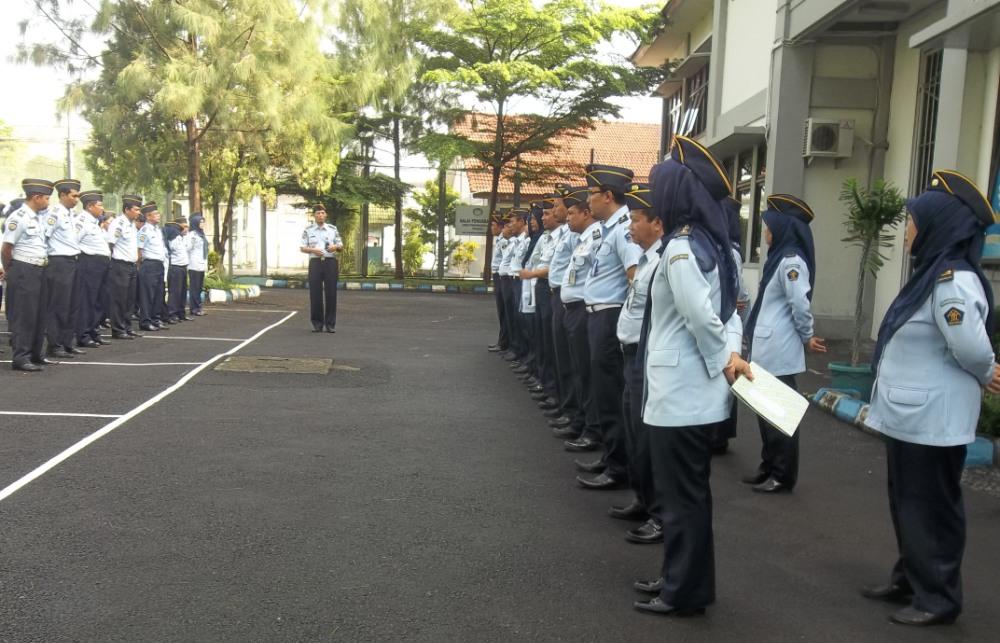 Kepala Lapas Wirogunan Melantik Unit Pemberantasan Pungli