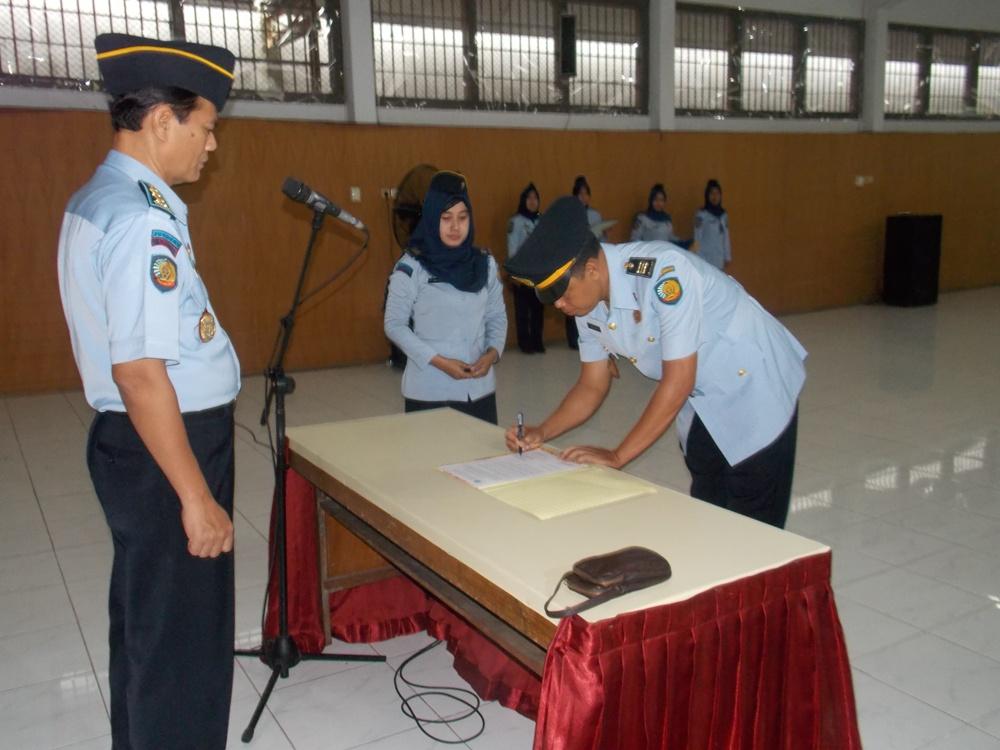 Lapas Wirogunan Selenggarakan Upacara Pengambilan Sumpah dan Pelantikan Kepala KPLP