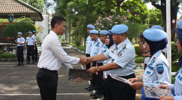 Orientasi Selesai, CPNS Lapas Yogyakarta Terima SK Penempatan Jabatan