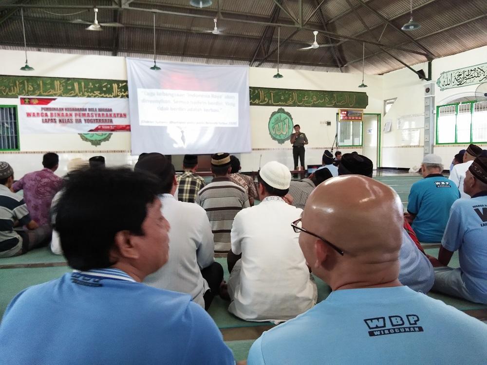 300 WBP Lapas Yogyakarta Dibekali Pembinaan Kesadaran Bela Negara
