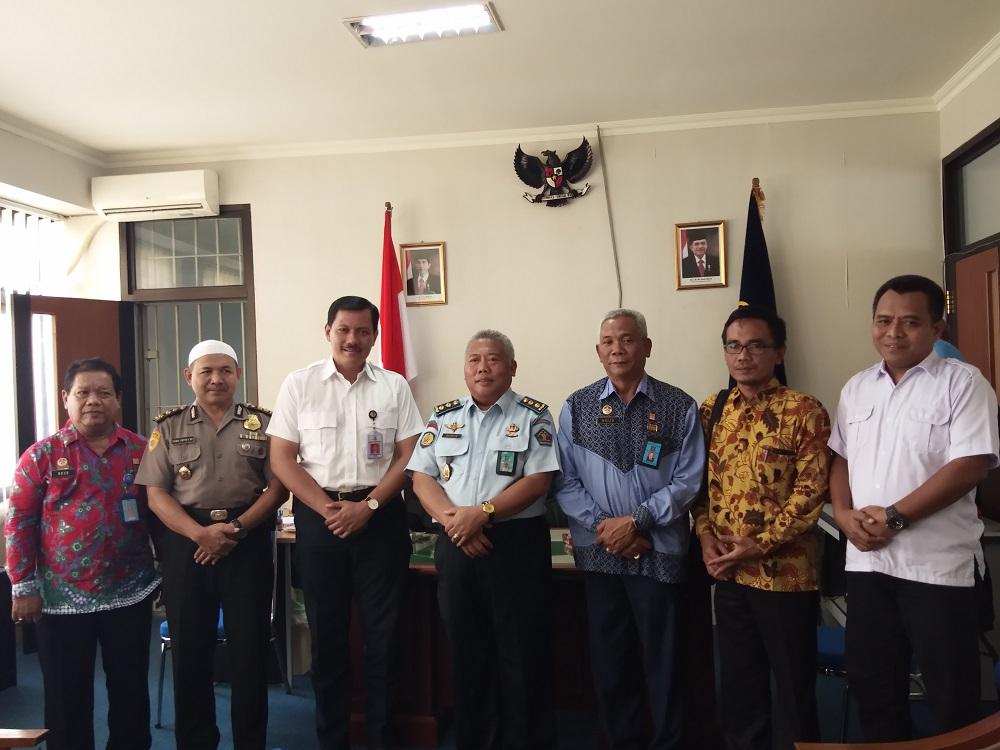 Napiter Lapas Kelas IIA Yogyakarta Mendapat Kunjungan dari Polda DIY