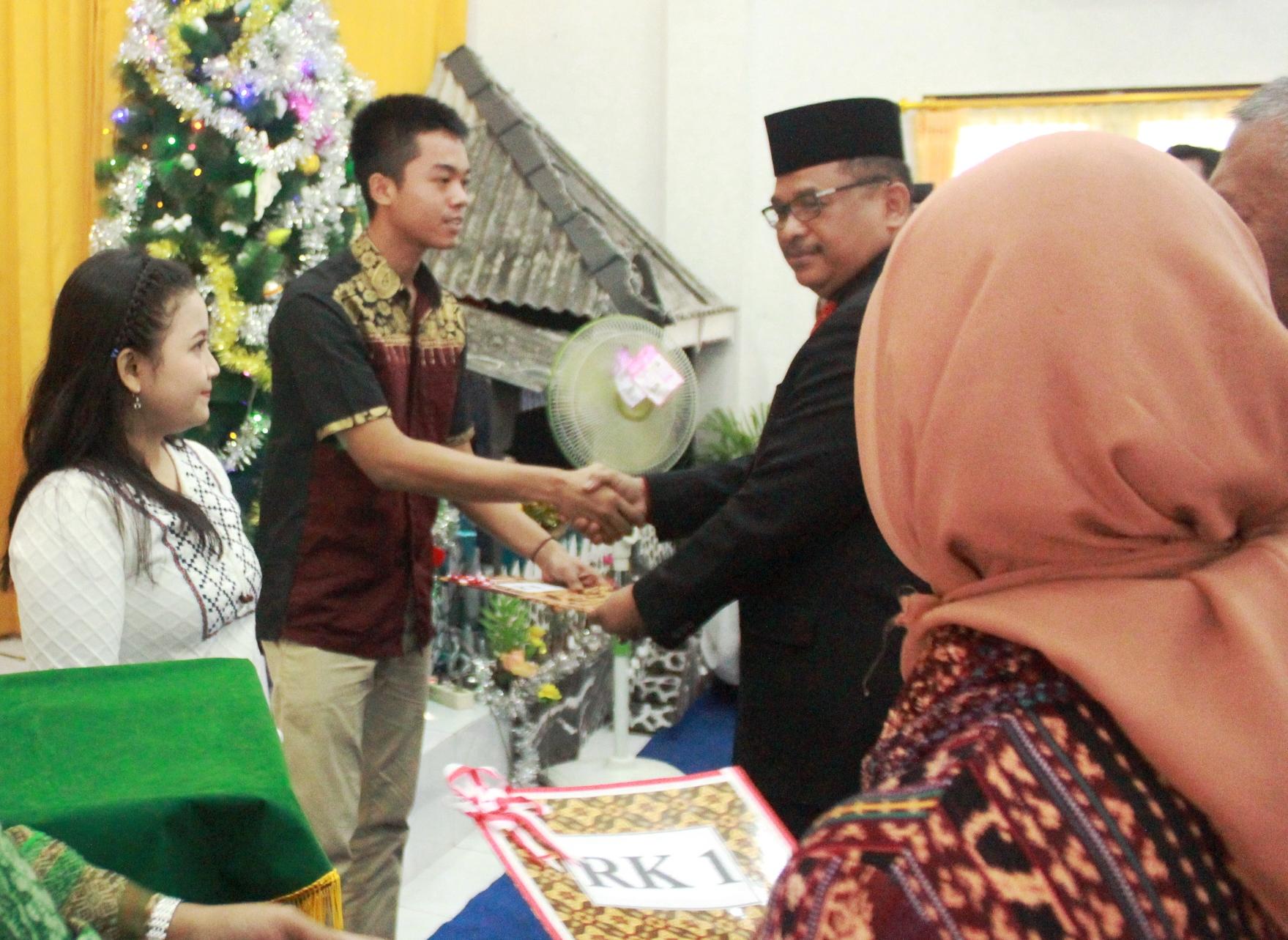 Dinilai Berkelakuan Baik, 20 WBP Lapas Yogyakarta Menerima Remisi Khusus Natal