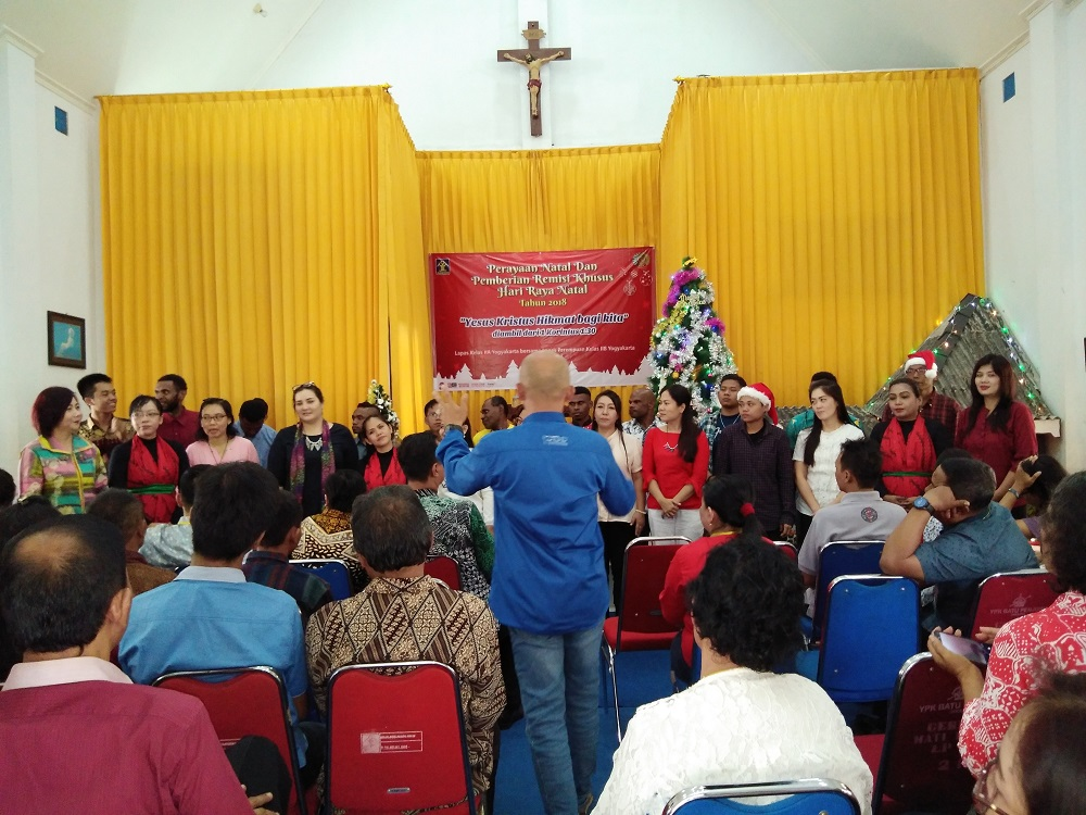 Berkah Natal, Para WBP Dapat Berkumpul dengan Keluarga