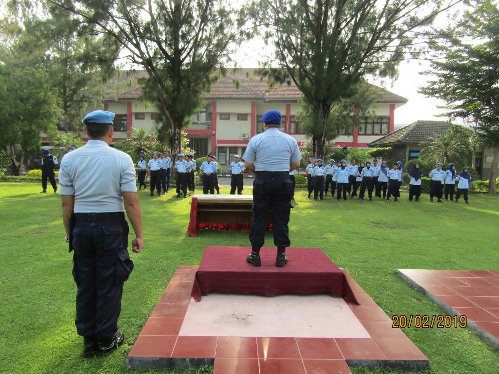 Lapas Kelas IIA Yogyakarta Selenggarakan Apel Deklarasi  Bebas dari Penyalahgunaan Narkoba dan Handphone