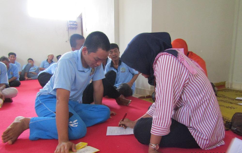 Peringati Hari TB Sedunia, Lapas Kelas IIA Yogyakarta Selenggarakan Penyuluhan dan Screening Kepada WBP
