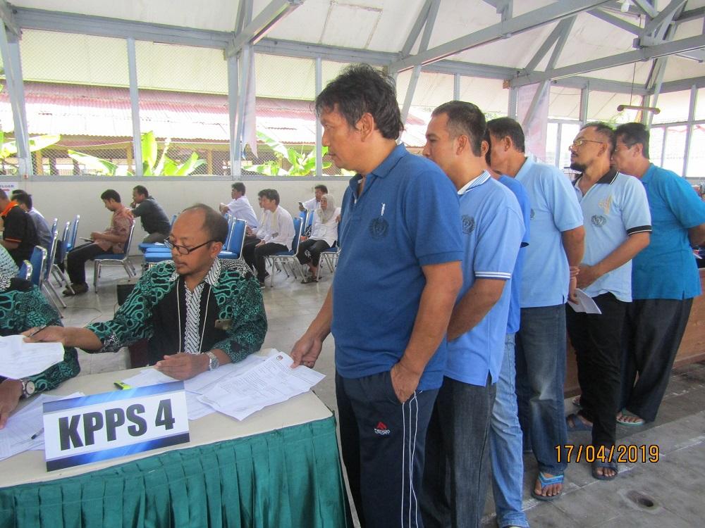 Pemilu 2019, Narapidana Lapas Wirogunan Ikut Pesta Demokrasi