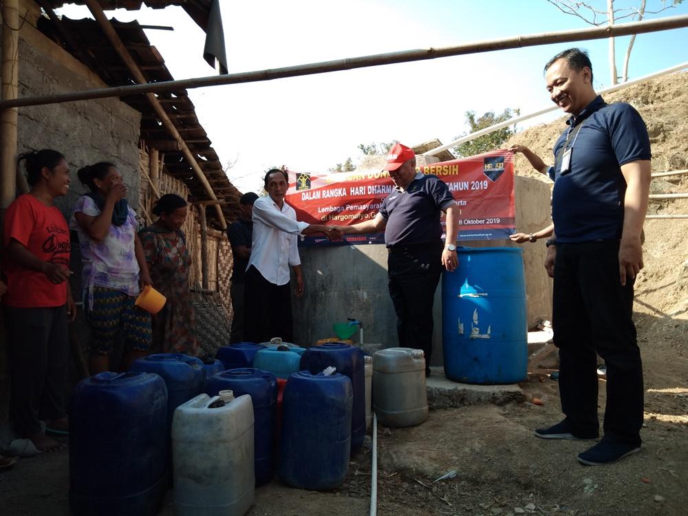 Lapas Wirogunan Lakukan Aksi Kemanusiaan ke Gunung Kidul
