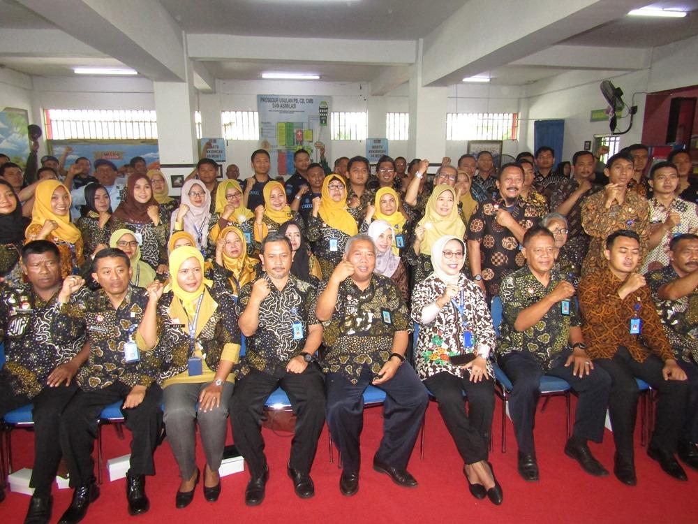 Kadiv Pemasyarakatan Kanwil Kemenkumham DIY  Beri Pengarahan Kepada Pegawai Lapas Wirogunan Yogyakarta
