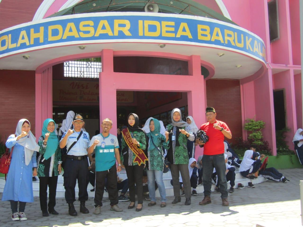 Tim Kerja Pembangunan Zona Integritas Lapas Wirogunan Lakukan Sosialisasi  ke SD Idea Baru Yogyakarta