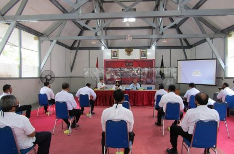 Tim Balitbang Kemenkumham Mengapresiasi Peningkatan IPK dan IKM Triwulan II Lapas Wirogunan