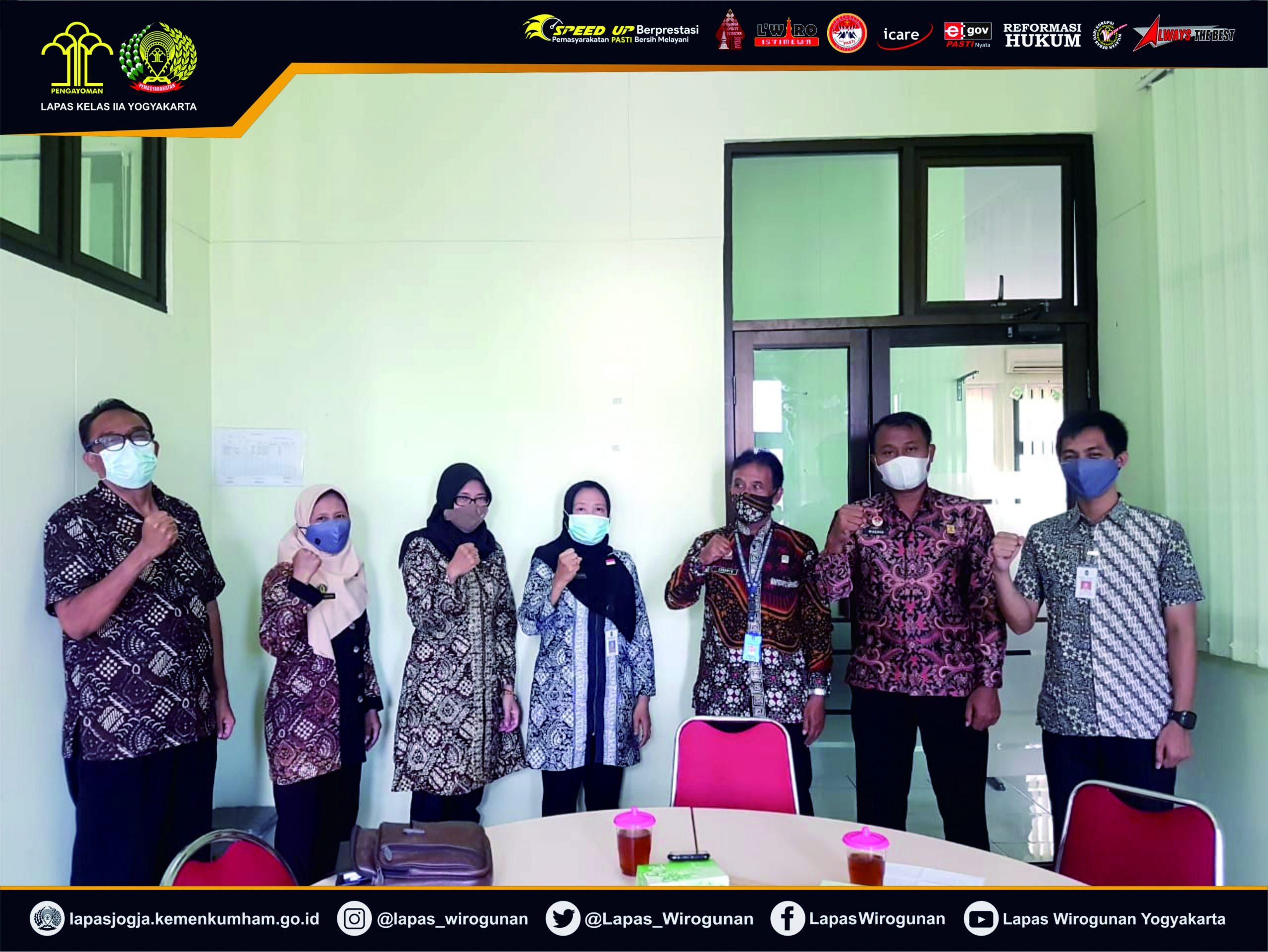 Kerjasama di Bidang Asimilasi WBP, Lapas Yogyakarta Gandeng Dinsosnakertrans