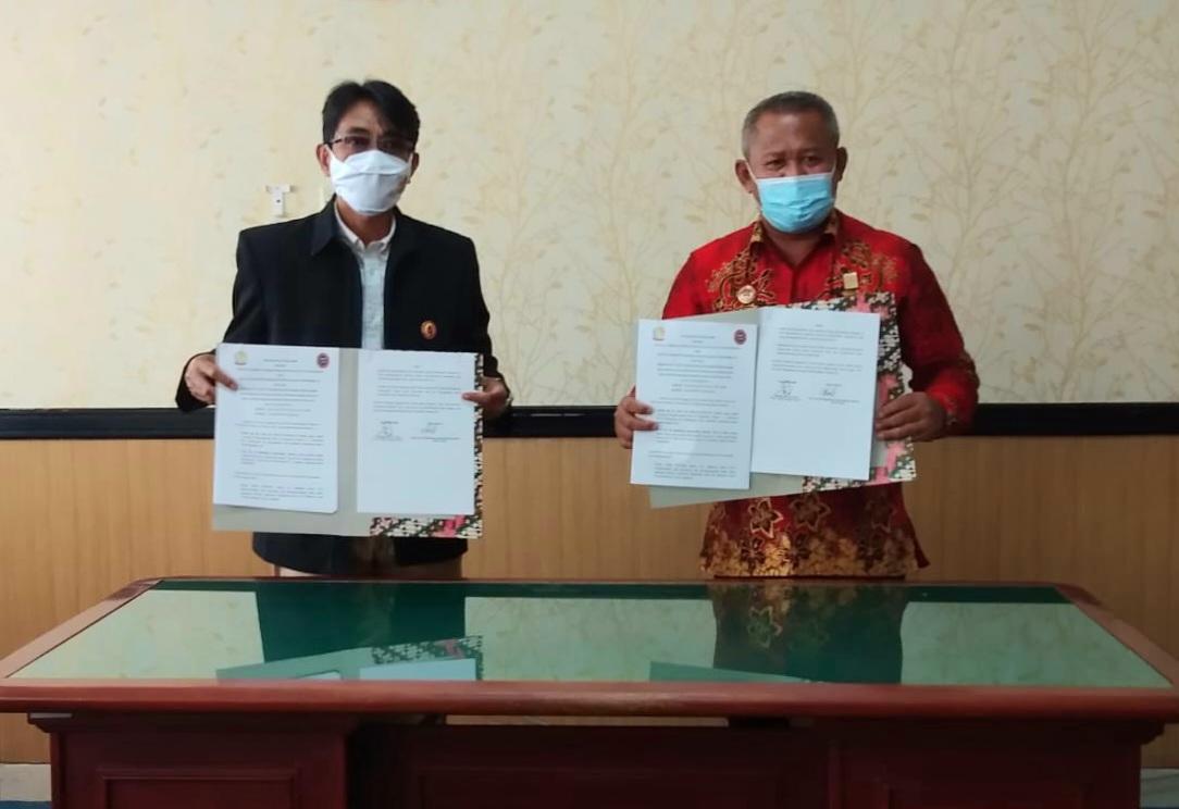 Kalapas Teken PKS dengan FKPT DIY, Prof. Mukhtasar: Indikator Diraihnya Predikat WBK