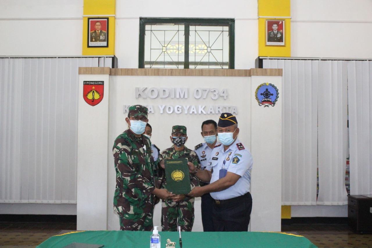 Perkuat Sinergisitas, Lapas Yogyakarta Teken Kerja Sama dengan Kodim Kota Yogyakarta