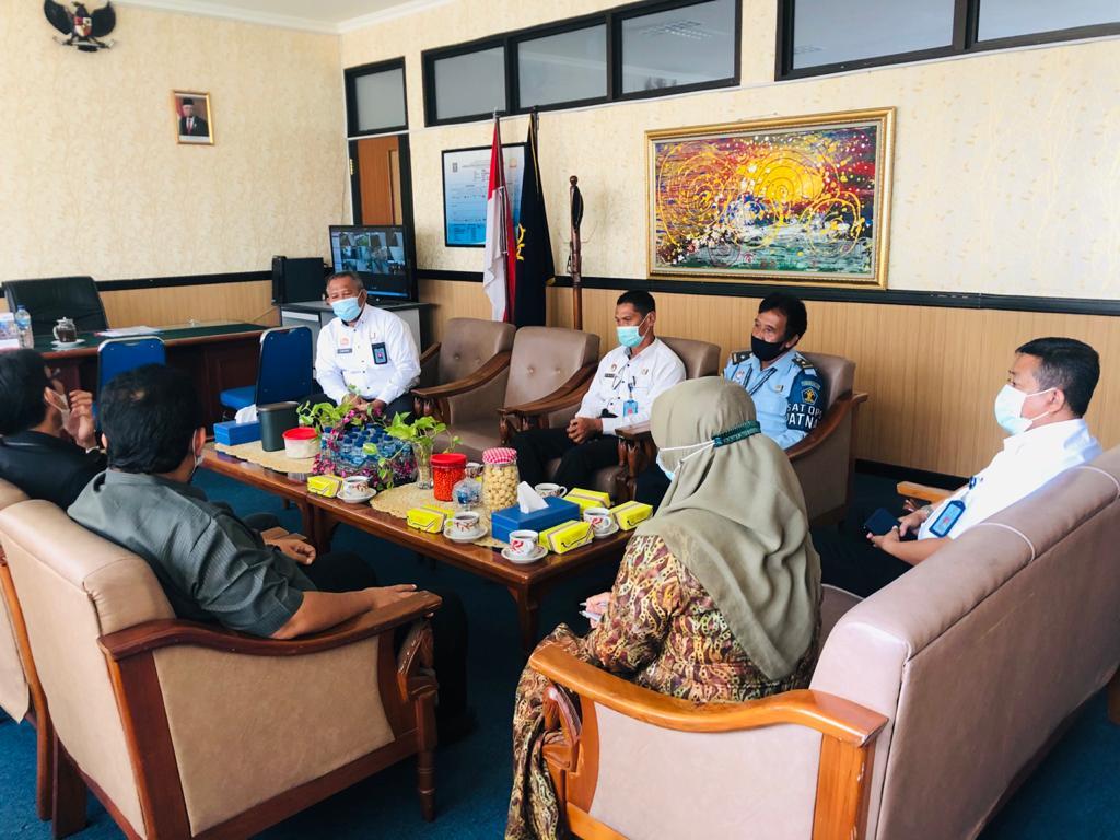 Dukungan WBK Datang Silih Berganti, FKPT DIY Menyambangi Lapas Yogyakarta