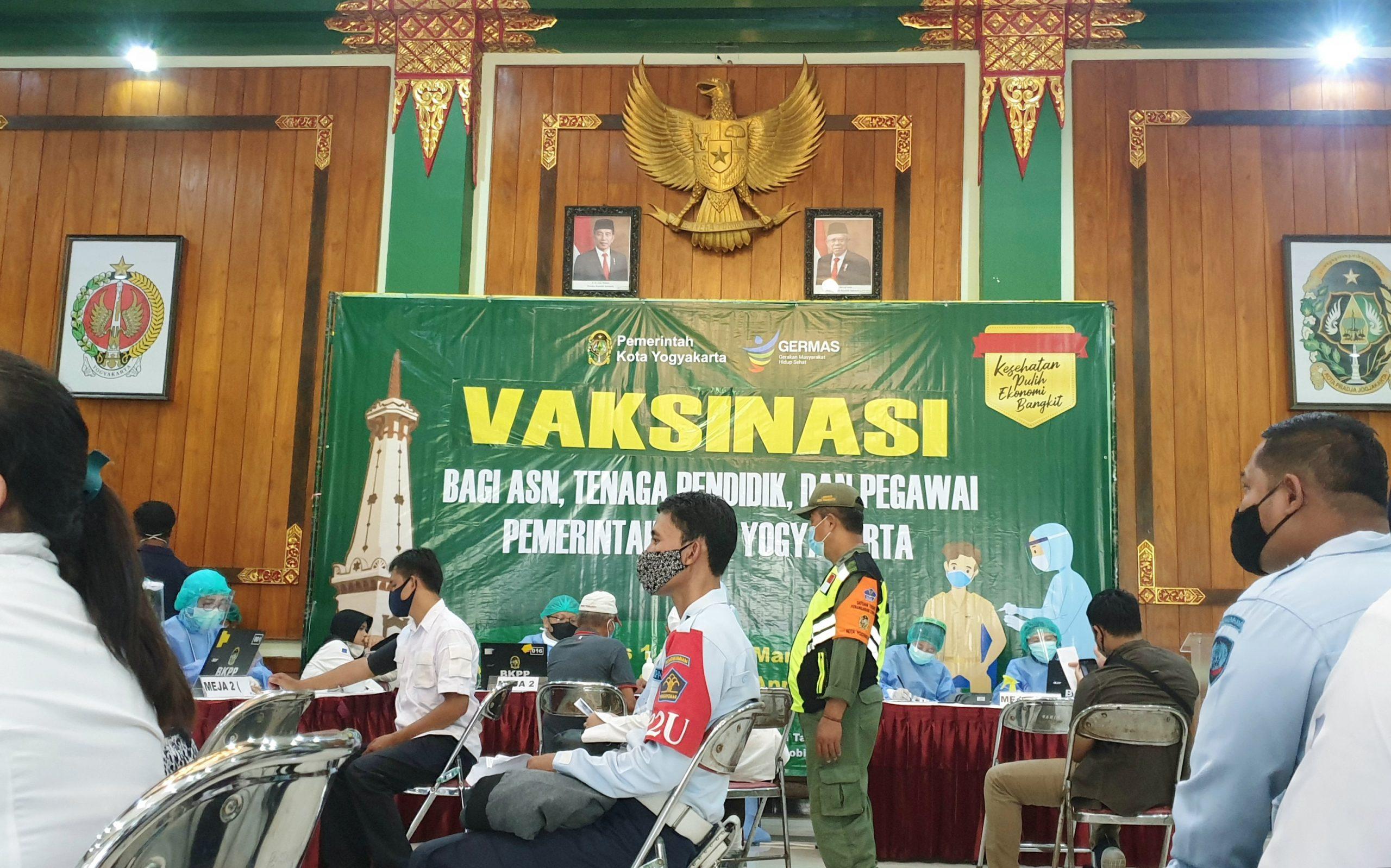 Dukung Indonesia Sehat, Lapas Yogyakarta Berperan Aktif dalam Program Vaksinasi