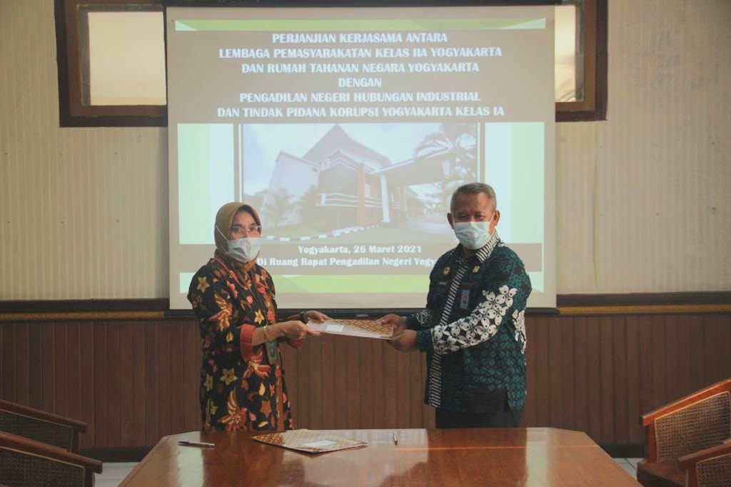 Wujudkan Zero Overstaying, Lapas Yogyakarta Bekerjasama dengan PN Yogyakarta