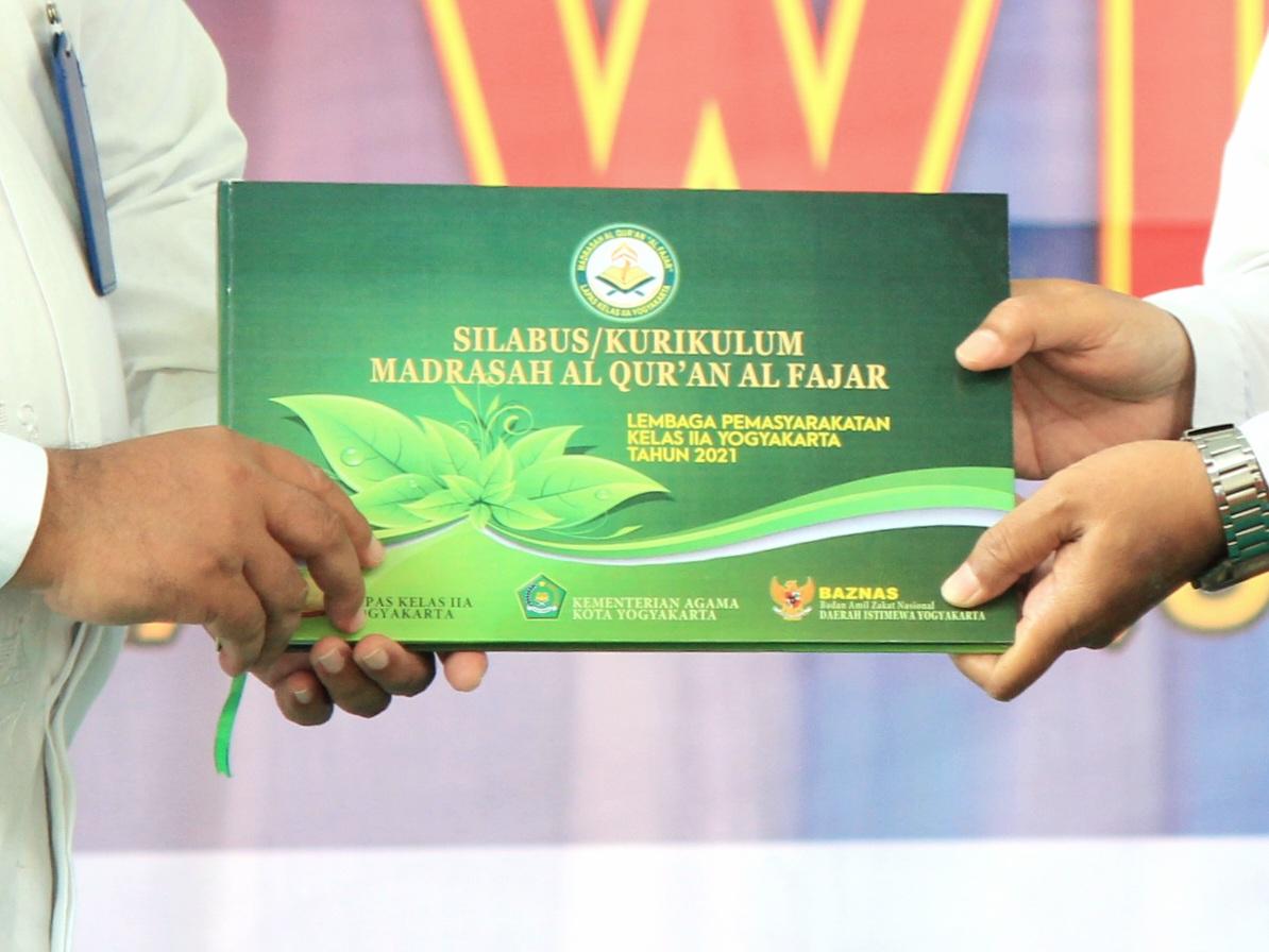 Lapas Yogyakarta Luncurkan Silabus Pembelajaran untuk Madrasah Alquran Al-Fajar