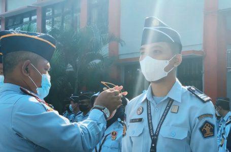 Semangat WBK dalam Pengukuhan Kenaikan Pangkat Enam Petugas Lapas Yogyakarta