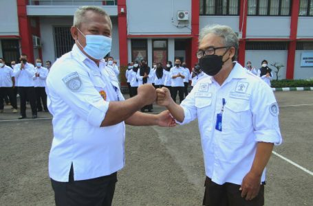 Kalapas Yogyakarta Melepas Petugas Pemasyarakatan yang Memasuki Purna Tugas