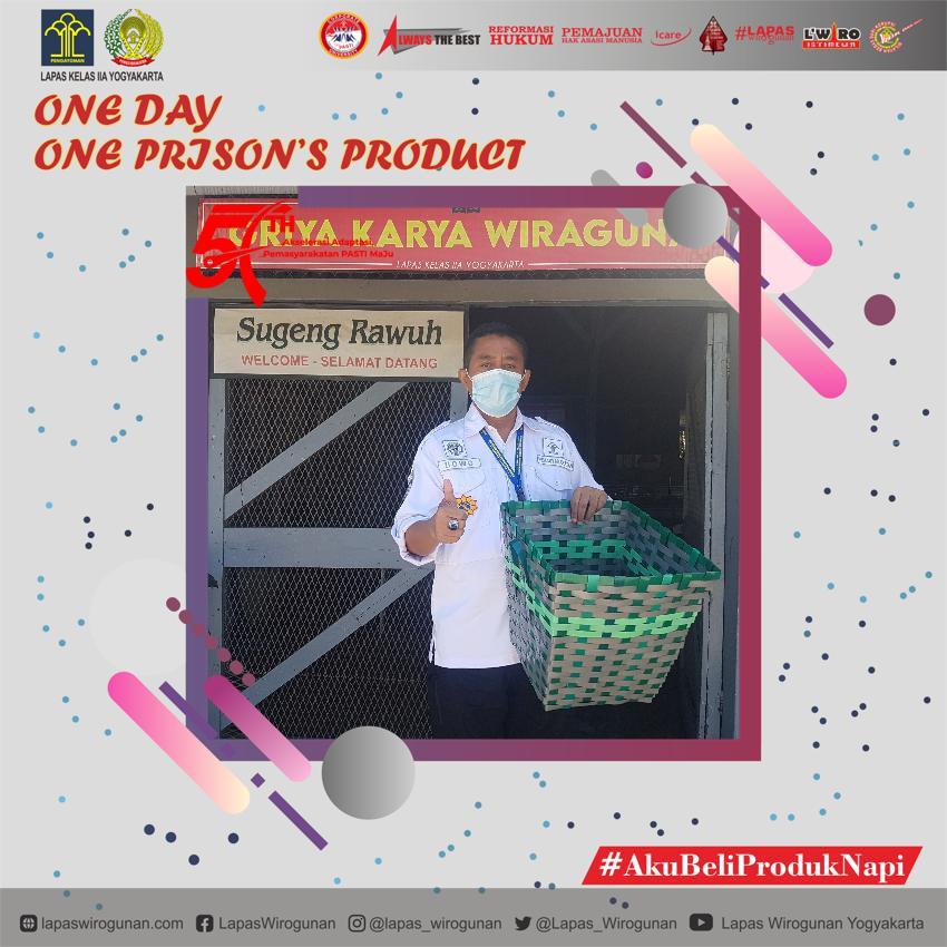 Sukseskan Program One Day Prison's Product di Lapas Yogyakarta