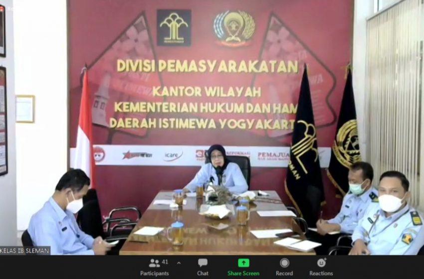 Tingkatkan Kewaspadaan, Lapas Yogyakarta Mengambil Langkah Pencegahan Sesuai Arahan