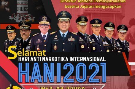 HANI 2021, Aksi Nyata Pemasyarakatan Lawan Peredaran Gelap Narkotika