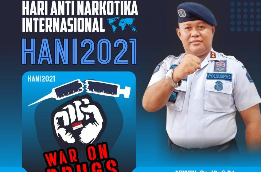 Lapas Kelas IIA Yogyakarta Mendukung Penuh Pemberantasan Narkoba