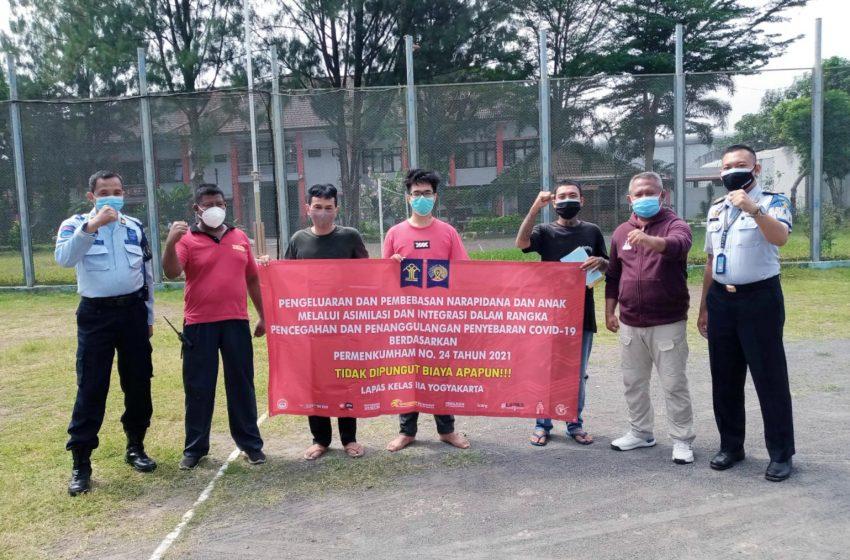 Tidak Dikenakan Biaya, 3 WBP Lapas Yogyakarta Asimilasi di Rumah