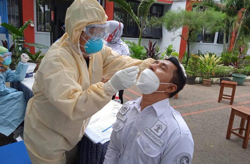 Lapas Yogyakarta Swab Antigen Seluruh Petugas Pemasyarakatan