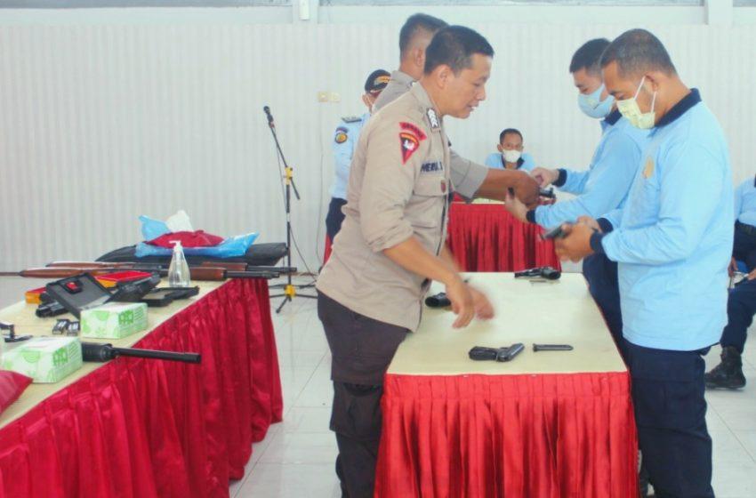 Tingkatkan Kompetensi SDM, Lapas Yogyakarta Gelar Latihan Bongkar Pasang Senpi