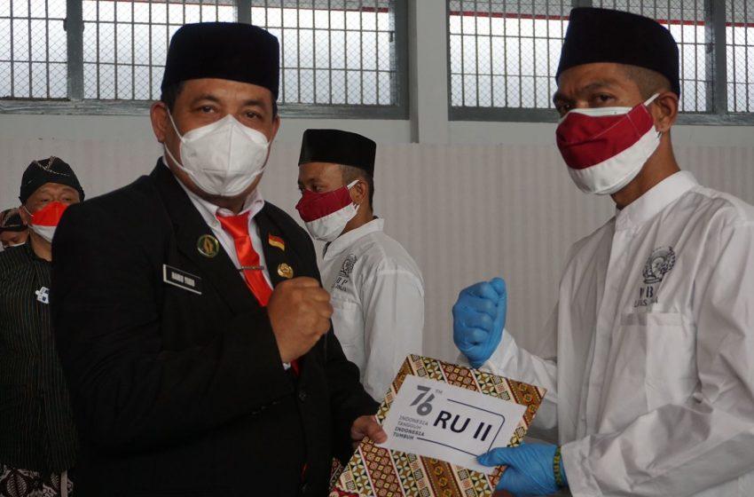 HUT ke-76 Kemerdekaan RI, WBP Lapas Yogyakarta Mendapatkan Remisi
