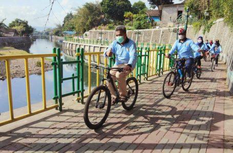 Bersepeda Sarana Menjaga Kebugaran Petugas Lapas Yogyakarta