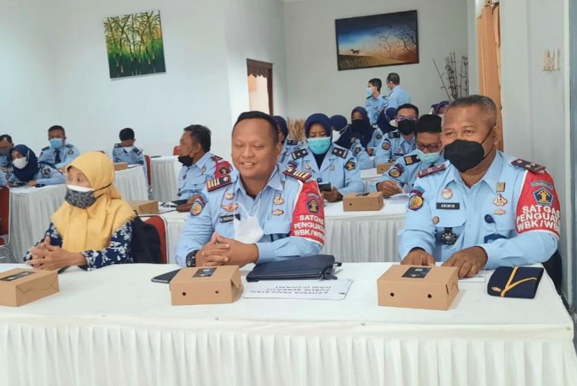 Komitmen Wujudkan Layanan Terbaik, Kalapas Yogyakarta Ikuti Diseminasi P2HAM