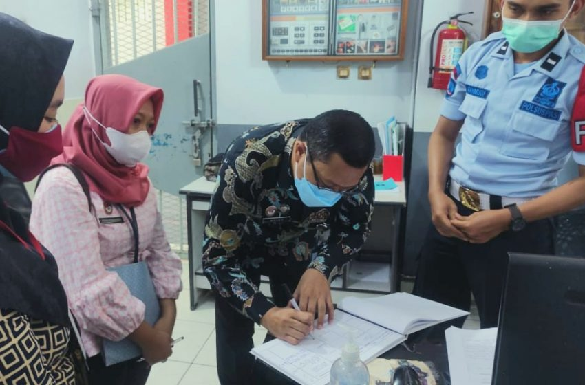 Terus Berbenah Sukseskan Zona Integritas, Lapas Yogyakarta Terima Kunjungan Biro Hukerma