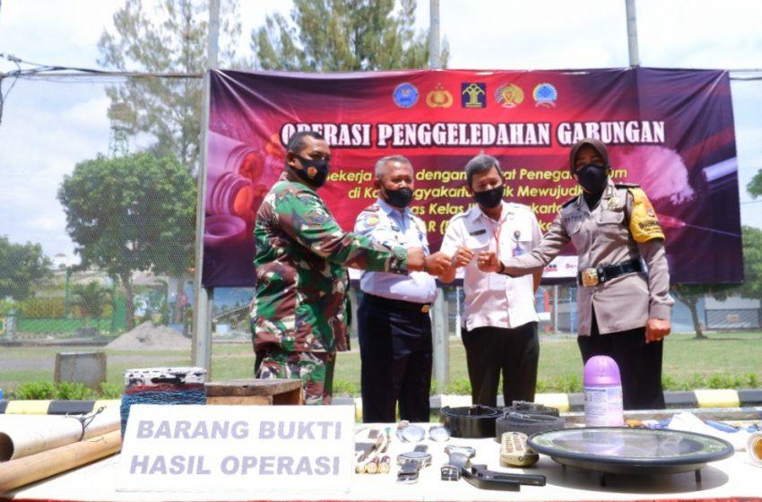 Semakin PASTI dan Bersinar, Operasi Penggeledahan Gabungan Kembali Digelar Lapas Yogyakarta