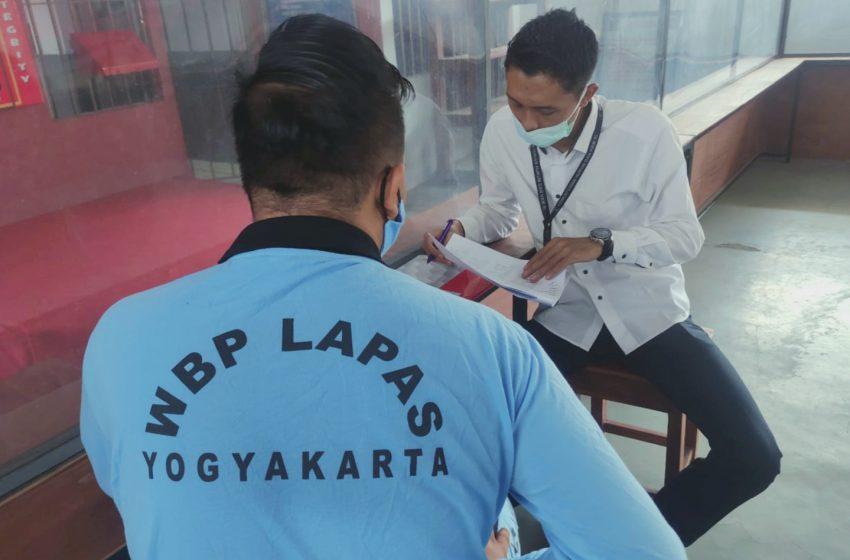 Lapas Yogyakarta Menerima Kunjungan dari Tim Peneliti Balitbang Kumham