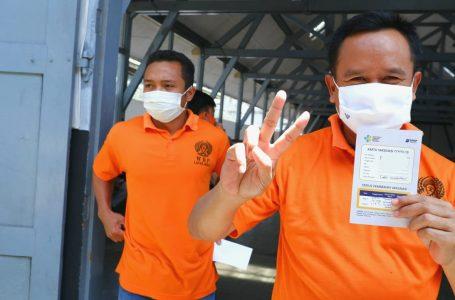 Vaksinasi Dosis Ke-2 di Lapas Yogyakarta, WBP Pulang Harus Sehat dan Divaksin