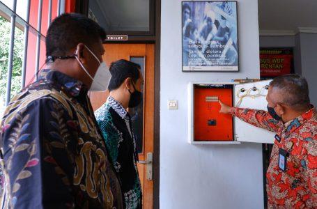 Antisipasi Kebakaran, Kalapas Yogyakarta Cek Instalasi Listrik