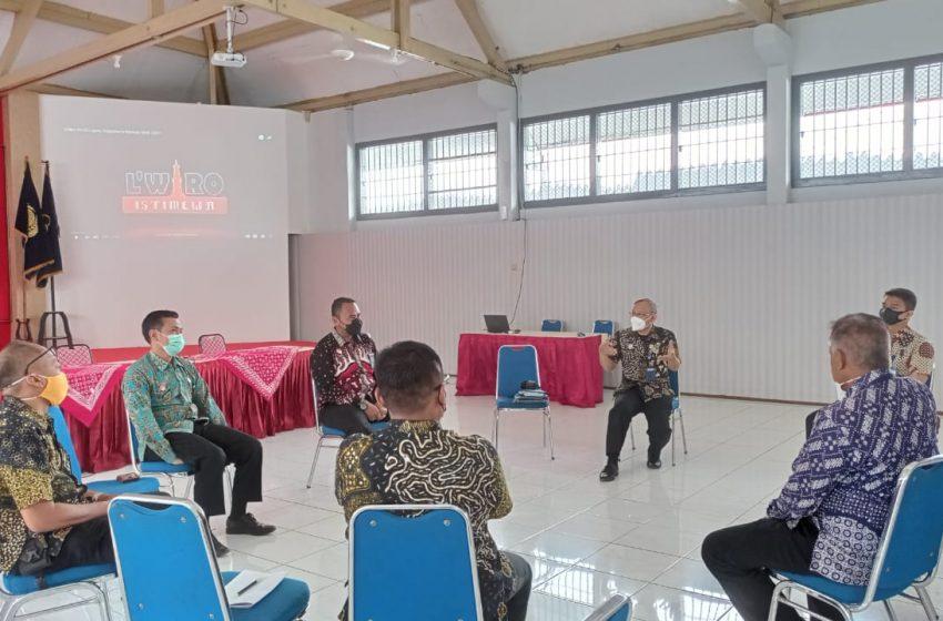 Menuju WBK, Kalapas Pimpin Tim ZI Susun Strategi